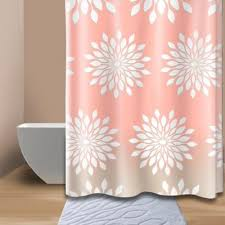 Pink And Orange Shower Curtain Buy Extra Wide Shower Curtain From Bed Bath U0026 Beyond