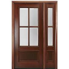 Exterior Wooden Door True Divided Lite Tdl Wood Front Entry Doors Exterior Wood Doors