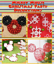 mickey mouse christmas party ideas a disney mom u0027s thoughts