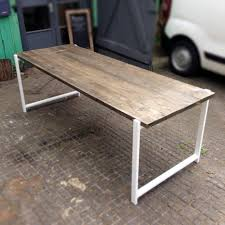 dining tables refurbished old wood recycled wood dining tables