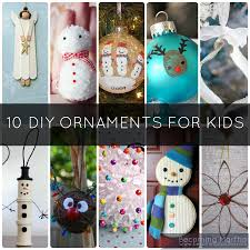 ornaments to make with at home cheap craft ideas