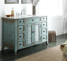 Vintage Bathroom Wall Cabinet Vanities Adelina 47 Inch Cottage Bathroom Sink Vanity White