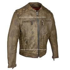 mens motorcycle leathers mens distressed brown leather motorcycle jacket with diamond