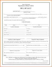free vehicle bill of sale renter verification form