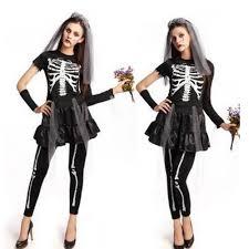 Skeleton Halloween Costume Women by Popular Skeleton Costume Buy Cheap Skeleton Costume Lots