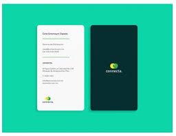 Flat Design Business Card I Like Vertical Business Cards Design Pinterest Vertical