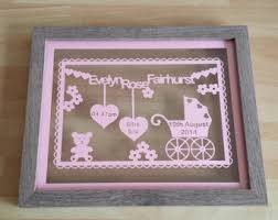 keepsake gifts for baby bee happy paper cut gift unframed retirement gift new