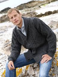 men u0027s merino cardigan sweater aran sweaters direct