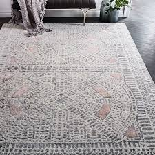 west elm dynasty rug rosette rosettes room ideas and living rooms