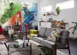 wall mural avengers graphic art