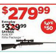 best 223 black friday deals savage axis xp rifle package 279 99 sports authority black