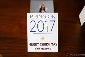 71 toes christmas card ideas 2016