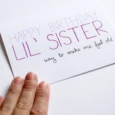 birthday card ideas for sister birthday card ideas for sister