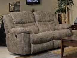 power reclining loveseat in coffee marble or elk fabric by
