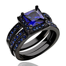 black wedding sets black wedding band sets ebay