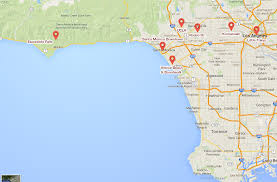 Los Angeles Attractions Map by Maps Update 21051488 Hollywood Tourist Attractions Map Los Map Of