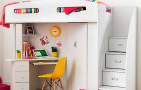 Bunk Bed With Study Table Bunk Bed Featured Stair And Study Table For Best Study