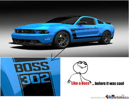 Ford Mustang Memes - ford mustang boss 302 my dream car 3 by bjmdtcgreenday12