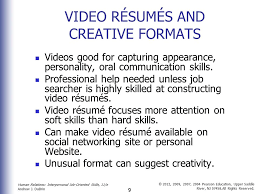 Resume Hard Skills Job Search And Career Management Skills Ppt Download