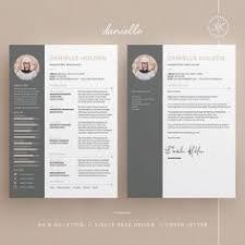 Resume Design Templates Word Ashlee Resume Cv Cover Letter Template 3 Page Design Word