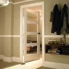 4 Panel Interior Door Glass Panelled Interior Doors 4 Panel Shaker Primed Smooth Glazed