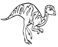 Leaellynasaura Dinosaur Coloring Pages Animal Coloring Pages