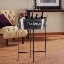 Oval Party Beverage Tub by Furnitures Beverage Tub With Stand Beer Buckets Wine Bottle