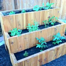 tiered vegetable planter home thangs pinterest planters