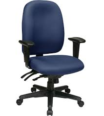 Blue Computer Chair High Back Rolling Chair In Office Chairs