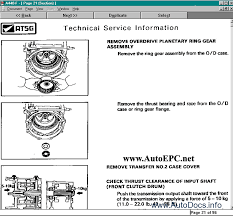 atsg 2009 transmission service manuals parts catalog repair manual