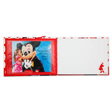 minnie mouse photo album minnie mouse autograph book and photo album shopdisney