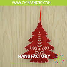 products made recycled felt materials ornaments for