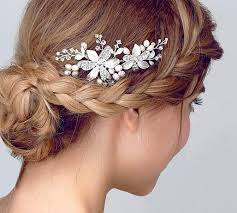 bridesmaid hair accessories 13 best hairpieces images on wedding hair styles