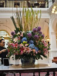 Hotel Flower Decoration Raffles Hotel Singapore Behind The Scenes Not Quite Nigella