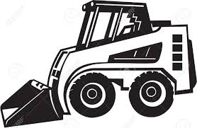 front loader vinyl ready royalty free cliparts vectors and stock