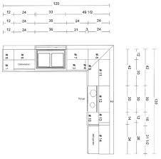 kitchen cabinets layout