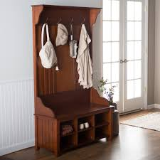 Entryway Shoe Storage Bench And Wall Mount Hutch Furniture Appealing Hall Tree Storage Bench For Home Furniture