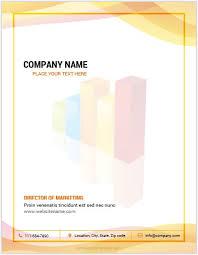 10 best ms word company letterhead templates word u0026 excel templates