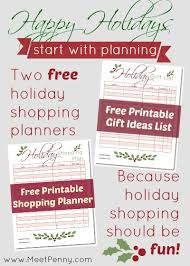 free printable gifts planner linky meet penny