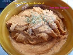 une mousseline en cuisine une mousseline de lentilles corail
