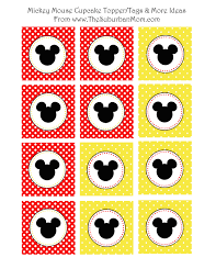 showing off our disneyside mickey mouse party ideas free
