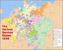 German States Map by Holy Roman Empire