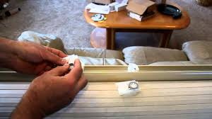 Vertical Blinds Repair Repairing Levelor Cordless Cellular Shades Youtube