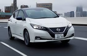 nissan leaf back nissan leaf 2018 review autocar