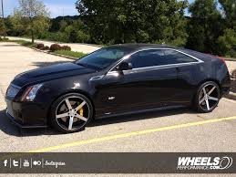 cadillac cts 20 inch wheels client s cadillac cts v with 20 vossen cv3 black machined wheels