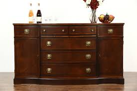 traditional buffet sold traditional mahogany sideboard server or buffet signed