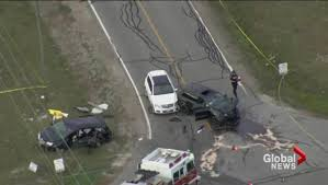 3 children among 4 killed after multi vehicle collision in vaughan