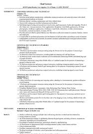 resume format administrative officers exam solutions s1 ophthalmic technician resume sles velvet jobs