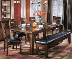 furniture store chicago 6 piece dining set with extension table