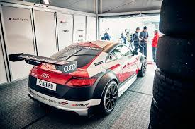 audi sports car car magazine races in the 2017 audi sport tt cup by car magazine